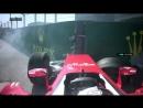 Гран-При России 2016 - Авария Себастьяна Феттеля на старте гонки