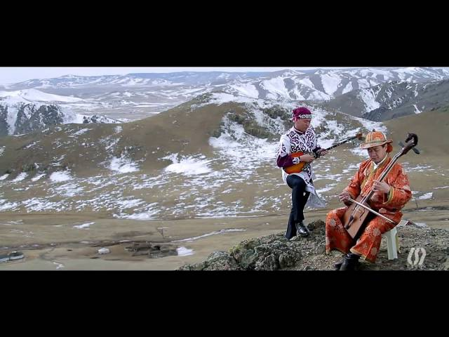 Kazakh and Mongolian musical instruments' duet.