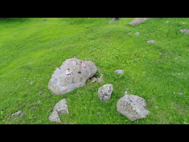 Бистриця у Болгарії ?С дрон над магическия камък - Бистрица