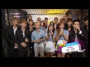 F(x) EXO Front-Runner Interview '첫 사랑니(Rum Pum Pum Pum)' '으르렁 (Growl)' KBS MUSIC BANK 2013.08.16