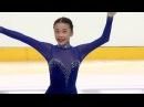 Yixuan ZHANG CHN Ladies Short Program MINSK 2017