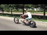 Велочоппер, электровелосипед, кастом, bike cycle, chopper, custom, велосипед, мотор колесо.