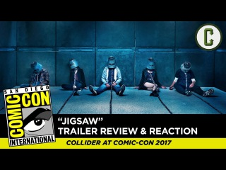 Jigsaw Trailer Reaction & Review - SDCC 2017