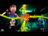 Chucky vs Freddy vs Billy vs JigsawEspecial hallowen 100 suscriptoresCori Rap Ft.varios artistas