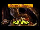 BIG WIN on Dragon's Treasure Slot -