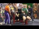 Dmitry Golovinsky Ukraine 302 5 kg 666 lbs bench press RAW