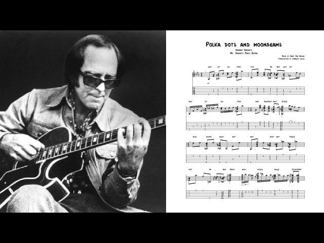 Polka Dots and Moonbeams Howard Roberts Transcription