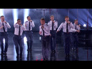 In The Stairwell_ Air Force Academy A Capella Group Amazes The Judges - America