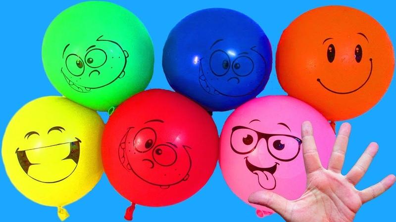 Сборник Воздушные Шарики с водой Учим цвета Песня про шарики Поем Шарик где же ты Лопаем шарики
