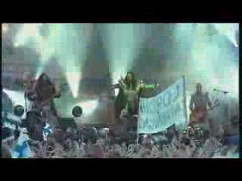 Lordi Hard Rock Hallelujah - Live