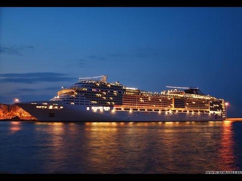 Большой морской корабль для путешествия по миру Large marine ship to travel the world