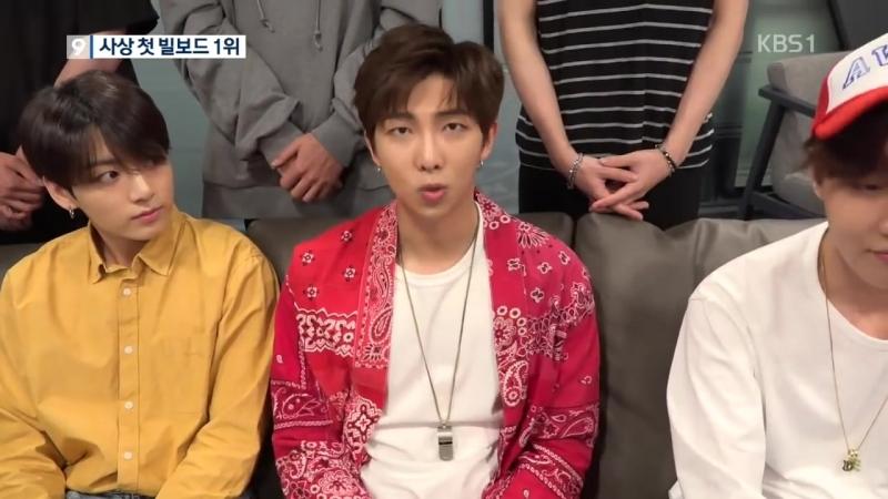 방탄소년단 '빌보드 1위'…한국 대중가요 사상 최초! / KBS뉴스(News)