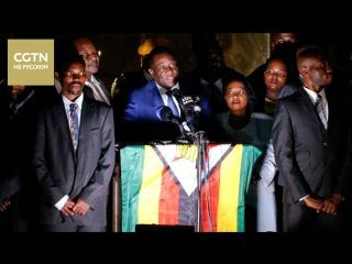 Эммерсон Мнангагва вернулся в Зимбабве, чтобы принять присягу в качестве и.о. президента
