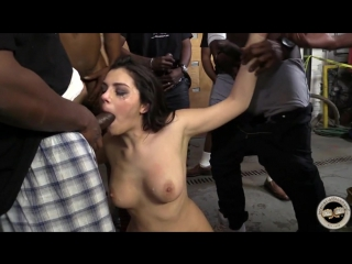 [InterracialBlowbang] Valentina Nappi (1080p) Fetish, Brunette, Facial, Hairy, Big Booty, BlowBang, Bukakke