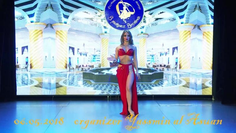 Александра Баландина эстрадная песня на фестивале восточного танца