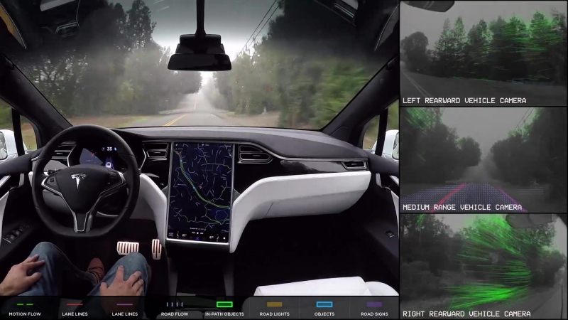TESLA X: Autopilot Full Self-Driving Hardware (Neighborhood Short)
