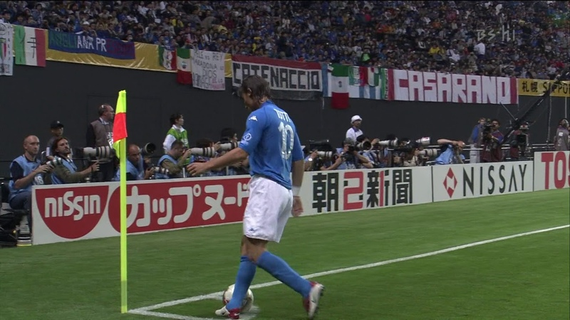 (1080p 60fps) 2002 한일 월드컵 G조 1차전 2경기 이탈리아 VS 에콰도르 후반전 (일본어해설)