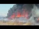 Пожар бригада в ловушке
