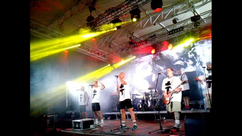 Концерт панк-рок группы BRUTTO (Воины Света) (Одесса Зелёный театр)