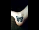 Весенняя бабочка на пяточке