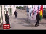 рабочие будни охраны Путина