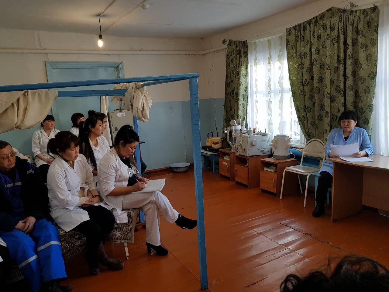 Кураторской помощь врачей Перинатального центра