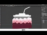 Speed Art - Milkshake [Illustration  Custom Lettering]