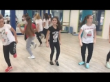 Хип-хоп связка на Территории танца