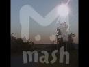 Ранним утром в небе над Липецком взорвался метеорит
