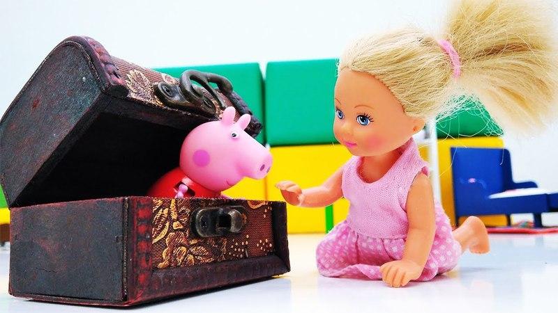 Штеффи и волшебная шкатулка Мультики с куклами