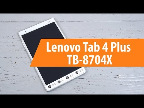 Распаковка Lenovo Tab 4 Plus TB-8704X / Unboxing Lenovo Tab 4 Plus TB-8704X