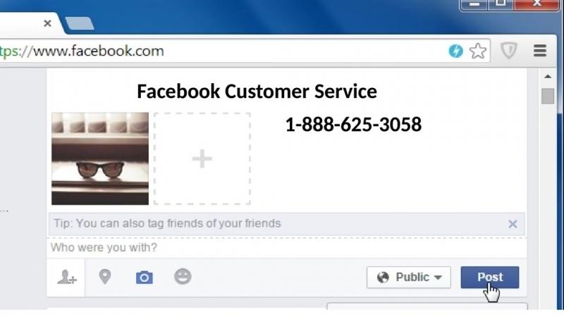 Call 1-888-625-3058 and Eradicate All errors Through Facebook Customer Service