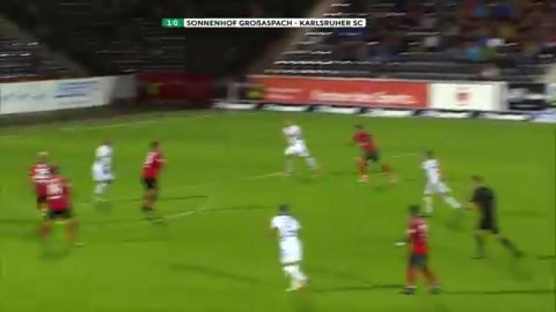 Highlights SG Sonnenhof Großaspach vs. Karlsruher SC