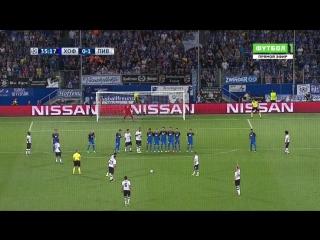 Хоффенхайм 0:1 Ливерпуль | Гол Арнольда
