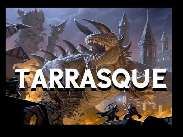 Dungeons and Dragons Lore Tarrasque