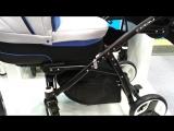 Новинка коляска для двойни Riko Teem 2018 год! Выставка в Москве Мир Детства-2017 г.