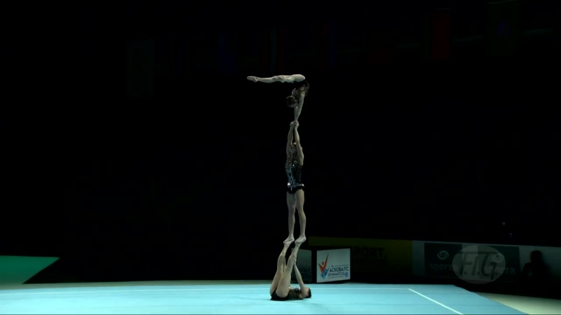 Russian Federation (RUS) - 2018 Acrobatic Worlds, Antwerpen (BEL) - Balance Womens Group