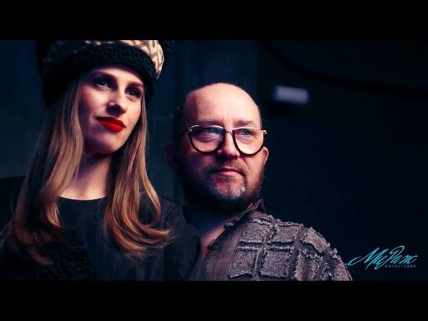 Видео Backstage со съёмок для дизайнера А. Перескокова