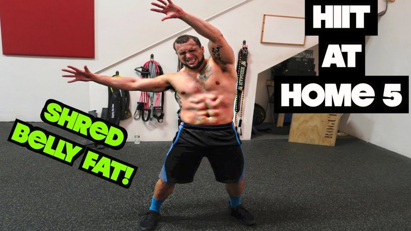Intense 5 Minute Belly Fat Burning Cardio Abs Workout 5 | HIIT At Home!