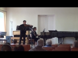 Евгений Кедровский (скрипка), Дарья Ширяева (фортепиано). Роберт Шуман, Соната №1.