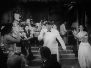 Johnny Scat Davis, Stripper, Ann Corio and the Chorus Performing Boogie Woogie Hula