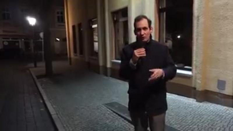 """In Luckenwalde sind die Rathausbüros nun auf Arabisch beschriftet der Brandenburger Justizminister will den """"Bevölkerungsaustau"""