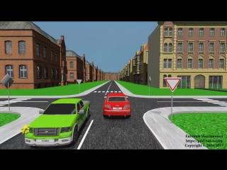 Занятие 5. Типичные ДТП во время проезда нерегулируемых перекрестков (1)