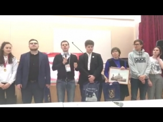 Объявление победителя суперфинала русскоязычной лиги Комарово-2018.MOV