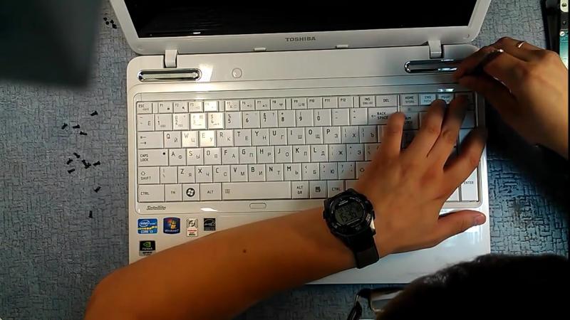 CoRE | Как разобрать Ноутбук Toshiba Satellite L755 - 29|ХХ