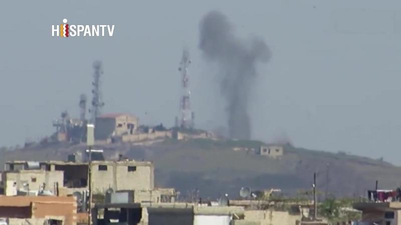 Rusia continúa bombardeando enclaves terroristas en Idlib
