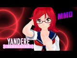 MMD x Yandere Simulator I Wouldn't Mind (Info-Chan)