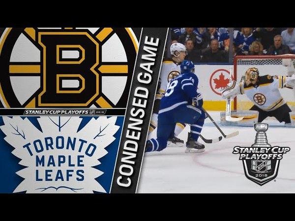 Boston Bruins vs Toronto Maple Leafs R1, Gm4 apr 19, 2018 HIGHLIGHTS HD