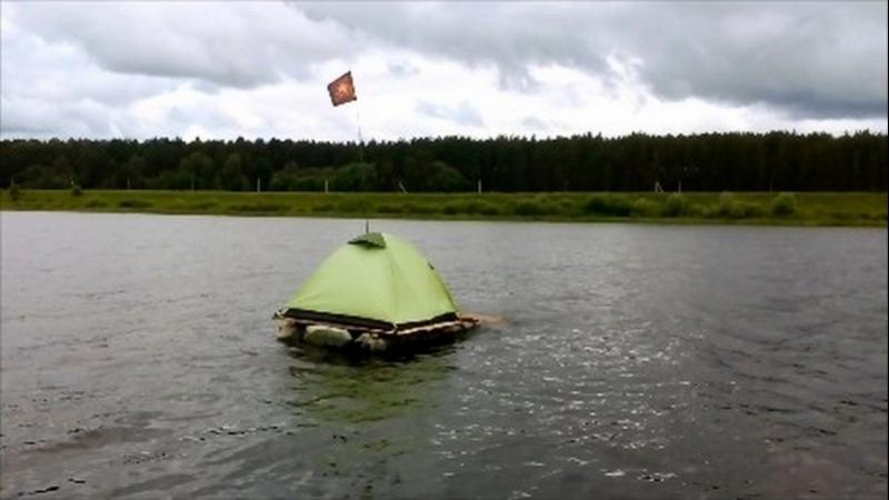 Сплав на плоту по р. Волга в июне - июле 2017 года