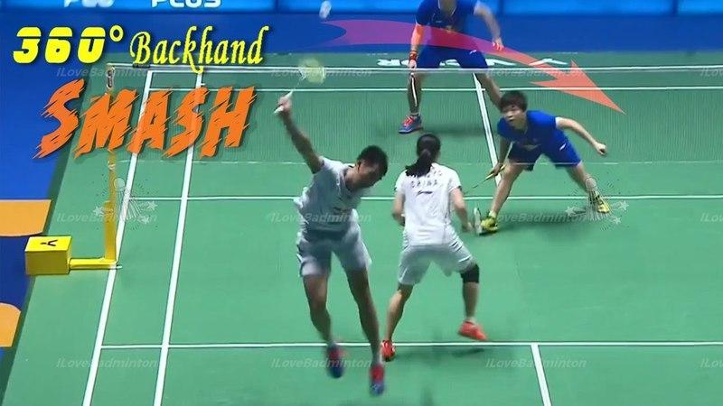 Backhand Jump Smashes - Sublime Badminton Skill